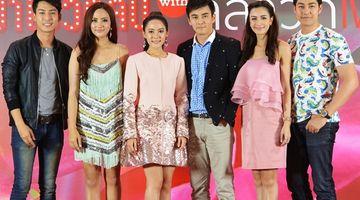 ธันวา-ทับทิม นำทีมนักแสดง ร่วมกิจกรรม มาโชว์คลิป with ลีลาวดีเพลิง