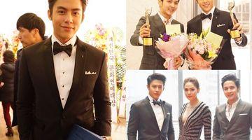 คนไทยไม่แพ้ชาติใดในโลก!! หมาก-ชมพู่-โต๋ เดินทางไปรับรางวัลนักแสดงนักร้องยอดเยี่ยมที่เกาหลี