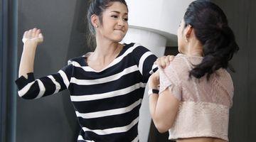 จันจิ อึ้ง! ขนหัวลุก จอย บุกตบ มารี ซัดกันหัวกระเจิง ใน หน้ากากนางเอก