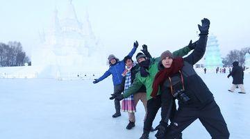 สมุดโคจร On The Way พาตะลุยท่องเที่ยวคลายร้อน เทศกาลแกะน้ำแข็ง หิมะนานาชาติฮาร์บิ้น ทางช่อง 28