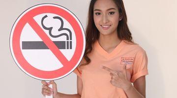 ยิ้มแก้มปริ!! แซนดี้ คว้าพรีเซ็นเตอร์วันงดสูบบุหรี่โลก ลดภัยเงียบ ลดโรค