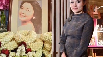หญิง รฐา พาเยือนสถานที่สุดท้ายก่อนหมดลมหายใจของราชินีเพลงจีน เติ้งลี่จวิน