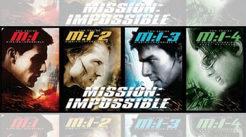 ทรูวิชั่นส์ เอาใจคอหนัง เสิร์ฟภาพยนตร์แอคชั่นช่วงสงกรานต์ กับ Mission Impossible 1 – 4