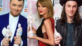 Sam Smith , Taylor Swift และ James Bay คว้ารางวัล BRIT AWARDS 2015