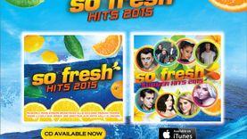 ที่สุดอัลบั้มฮิตแห่งปี SO FRESH Hits 2015 พร้อมเสิร์ฟแล้ววันนีั