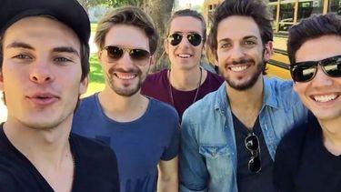 5หนุ่ม สุดหล่อจากสเปน 'DVICIO' ปลื้ม! ทำคลิปขอบคุณแฟน ๆ ชาวไทย