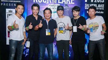 เปิดพิกัดความร็อค..โชว์จัดเต็มความมันส์พลังแสง!! ใน  'Singha Corporation' Presents 'Rock On The Lake 2015'  'ได้เวลา…ปลดปล่อยพลังร็อคในตัวคุณ'