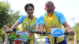 ศิลปินอาร์เอส ใบเตย ควงพ่อ นำทีมรวมพลัง ปั่นเพื่อพ่อ Bike For Dad 2015