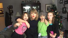 สวยและใจดี Taylor Swift เยี่ยมแฟนคลับที่ป่วยเป็นมะเร็ง