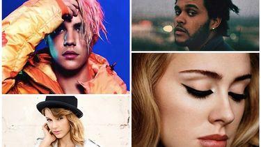 เดอะ วีคเอนด์ , อเดล, เทเลอร์ สวิฟ และ จัสติน บีเบอร์ ตบเท้าเข้าชิงรางวัลบนเวที Billboard Music Awards 2016