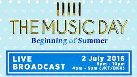 GEM ทรูวิชั่นส์ 244 เอาใจสาวก J-POP ถ่ายทอดสดคอนเสิร์ต THE MUSIC DAY 2016 – Beginning of Summer