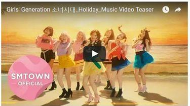 มาแล้ว! ทีเซอร์ เอ็มวี Holiday การรวมตัวครั้งใหม่ของ GIRLS' GENERATION
