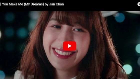 MV You Make Me (My Dreams) by Jan Chan