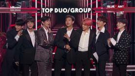 ฮือฮา! BTS สุดเจ๋ง ขึ้นรับรางวัลบนเวที Billboard Music Awards 2019