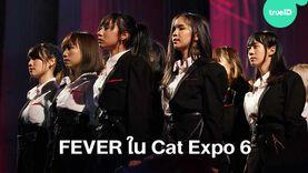 FEVER ไอดอลสุดสตรอง กับการแสดงที่โดดเด่นบนเวที Cat Expo 6 (มีคลิป)