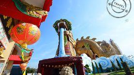 รวมประวัติศาสตร์ชาติจีน ที่พิพิธภัณฑ์ลูกหลานพันธุ์มังกร ไหว้พระแก้ชง ศาลหลักเมืองสุพรรณบุรี