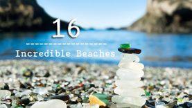 16 ชายหาด แปลกที่สุดในโลก ทั้งสวยและน่าทึ่ง