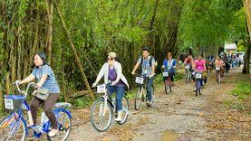 เที่ยววันเดียว Green Season ปั่นจักรยาน ทำบุญ ทำทาน เที่ยวลานวัฒนธรรม ชุมชนวัดท่าโสม ตราด