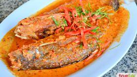 ร้านซีฟู๊ด ริมน้ำ บรรยากาศดี ราคาไม่แพง ที่ ร้านครัวชุกโดน จ.กาญจนบุรี