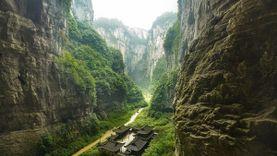 เที่ยวจีน อุทยานแห่งชาติหลุมฟ้า Three Natural Bridges ภูผาอัศจรรย์  ณ เมืองอู่หลง