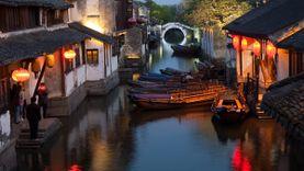 โจวจวง Zhouzhuang เมืองแห่งสายน้ำ มณฑลเจียงซู เวนิสแห่งประเทศจีน
