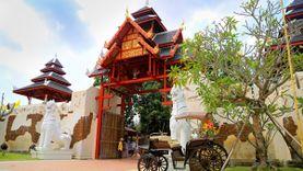 เที่ยวไทธานี  Thai Art and Culture Village หมู่บ้านวัฒนธรรมและศิลปะ ที่พัทยา