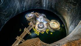 สวนสนุกใต้พิภพ Salina Turda ประเทศโรมาเนีย สร้างอยู่ใต้ดินลึกกว่า 120 เมตร
