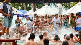 บุฟเฟ่ต์ ซีฟู้ดริมทะเล ปาร์ตี้สนุกสุดเหวี่ยง Amazing Sunday Brunch ที่ Nikki Beach เกาะสมุย