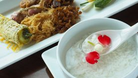 อาหารไทยตำรับชาววัง ข้าวแช่ คลายร้อน แกงรัญจวน ส้มฉุน ร้าน Rabbit in the kitchen อร่อย หาชิมยาก