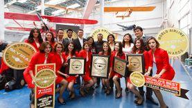 แอร์เอเชีย คว้ารางวัลสายการบินราคาประหยัดที่ดีสุดในโลก 7 ปีซ้อน