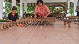 เที่ยวจันทบุรี ชม ช้อป เสื่อจันทบูร ที่ ศูนย์อนุรักษ์หัตถกรรมพื้นบ้านการทอเสื่อจันทบูร บ้านเสม็ดงาม
