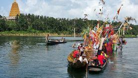 ชวนร่วมงานบุญ ลอยเรือสะเดาะเคราะห์ชาวมอญ สังขละบุรี