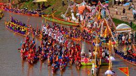 ชวนเที่ยวงานประเพณีแข่งเรือจังหวัดน่าน ชิงถ้วยพระราชทานฯ ประจำปี 2558