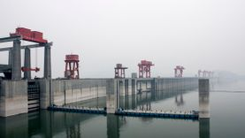 ซานเฉียต้าป้า เขื่อนที่ใหญ่ที่สุดในโลก เมืองหยีชาง มณฑลหูเป่ย ประเทศจีน