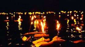 ประเพณีลอยกระทงกาบกล้วยเมืองแม่กลอง ประจำปี 2558 อ.อัมพวา จ.สมุทรสงคราม