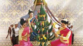 เทศกาลไหมนานาชาติ ประเพณีผูกเสี่ยว และงานกาชาดจังหวัดขอนแก่น ประจำปี 2558