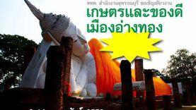 ชวนเที่ยวงาน เกษตรและของดีเมืองอ่างทอง ครั้งที่ 4 ประจำปี 2559