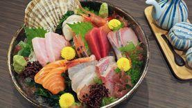 Honmono Sushi ซูชิ ซาซึมิสดอร่อยจาก Tsukiji เชฟกระทะเหล็ก การันตีความพรีเมี่ยม ที่ เซ็นทรัลพระราม 9