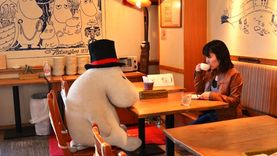 กินข้าวกับ มูมิน เทรนด์ใหม่ไม่เหงา ที่ Moomin Café ประเทศญี่ปุ่น