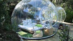 The Bubble Hotel โรงแรมสวย ในลูกแก้วยักษ์สุดเก๋ นอนดูดาวท่ามกลางป่าใหญ่ ในฝรั่งเศส