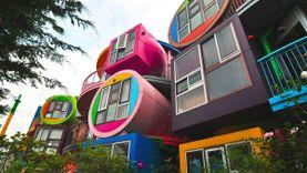 ที่พักญี่ปุ่น สุดแนว ที่โตเกียว The Reversible Destiny Lofts MITAKA