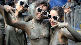 มันส์กระจาย เทศกาลโคลน ประเทศเกาหลีใต้ ได้ทั้งเพื่อนได้ทั้งผิว
