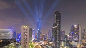 ตึกมหานคร ตึกที่สูงที่สุดในไทย แลนด์มาร์คแห่งใหม่ของกรุงเทพ เปิดตัวใหญ่ ด้วยแสงสี อลังการ (มีคลิป)
