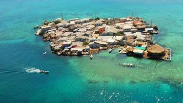 Santa Cruz del Islote เกาะแออัด ที่สุดในโลก กลางทะเลแคริบเบียน