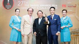 บางกอกแอร์เวย์ส คว้ารางวัลสายการบินระดับภูมิภาคยอดเยี่ยมประจำปี 2559  จาก ทีทีจี เอเชีย