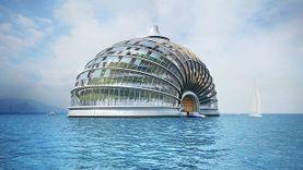 ไม่หวั่นแม้วันมามาก Ark Hotel โรงแรมลอยน้ำ รับวิกฤตน้ำท่วมโลก