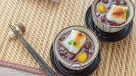 เค้กข้าว หรือ โมจิ อาหารต้อนรับ ปีใหม่ ของชาวญี่ปุ่น