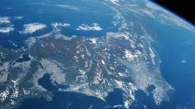 นักบินอวกาศ เผยภาพ ใบไม้เปลี่ยนสี เหนือฟากฟ้าประเทศญี่ปุ่น ย้อมสีแดงทั้งประเทศ