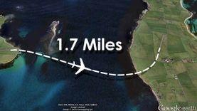 เร็วไปไหม? สายการบิน ระยะสั้น ที่สุดในโลก ข้ามระหว่างเกาะ 2 นาทีถึง
