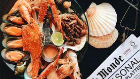 อาหารทะเล สดๆ ยกทะเลฝรั่งเศสมาเทตรงหน้า ที่ สการ์เล็ต ไวน์ บาร์ แอนด์ เรสเตอรองท์